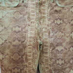 Snake skin GUESS JEANS